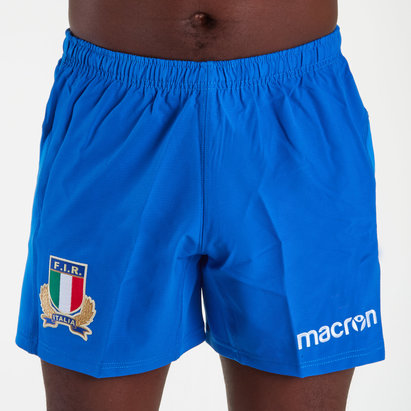Macron Italy 2018/19 Alternate Players Rugby Shorts