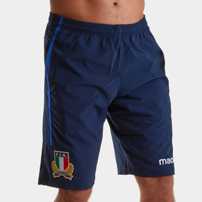 Macron Italy 2018/19 Players Rugby Training Shorts