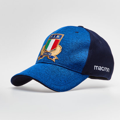 Macron Italy 2018/19 Players Rugby Baseball Cap
