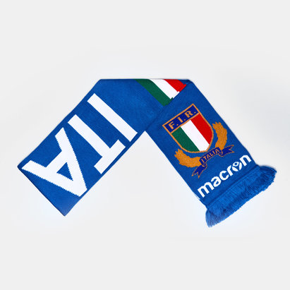 Macron Italy 2018/19 Supporters Rugby Scarf