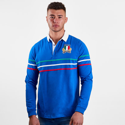 Macron Italy 2018/19 Cotton Supporters Rugby Shirt