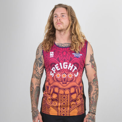 World Beach Rugby Queenstown Knights 2019 Home Rugby Singlet