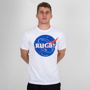 Rugby Division Space Graphic Rugby T-Shirt