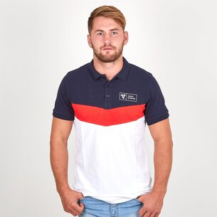 Rugby Division Rampage Pique Off Field Rugby Polo Shirt