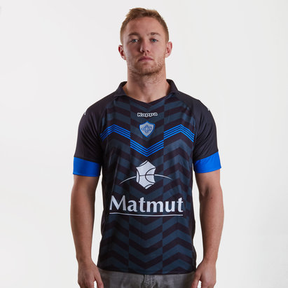 Kappa Castres Olympique 2018/19 3rd S/S Replica Rugby Shirt
