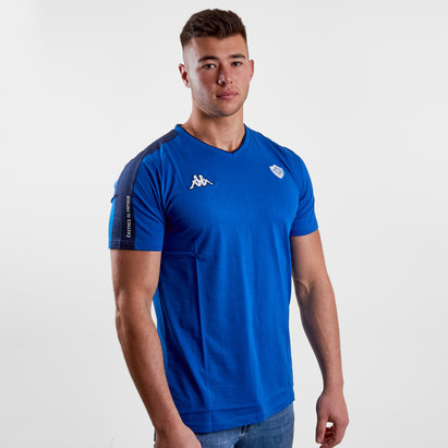 Kappa Castres Olympique 2018/19 Adama Players Rugby Training T-Shirt