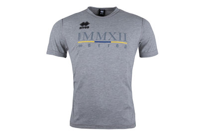 Errea Zebre 2017/18 Players Rugby Training T-Shirt