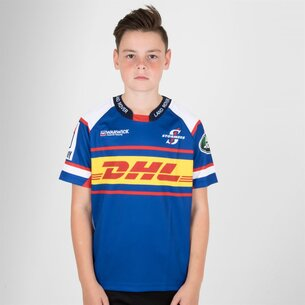 Genuine Connection Promotions Stormers 2018 Home Kids Super Rugby Replica Shirt