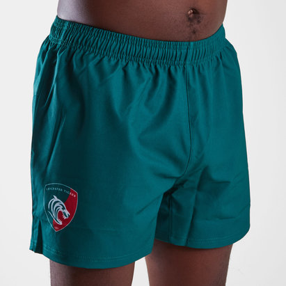 Kukri Leicester Tigers 2018/19 Home Rugby Shorts