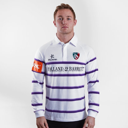 Kukri Leicester Tigers 19/20 Long Sleeve T Shirt Mens