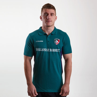 Kukri Leicester Tigers 2018/19 Players Match Day Rugby Polo Shirt