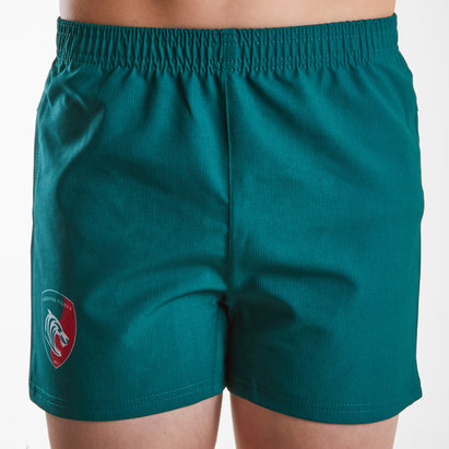Kukri Leicester Tigers 2018/19 Kids Home Rugby Shorts