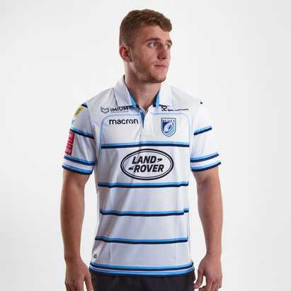 Macron Cardiff Blues 2018/19 Alternate S/S Replica Rugby Shirt