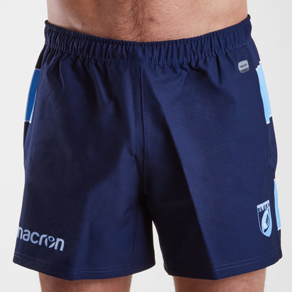 Macron Cardiff Blues 2018/19 Home Rugby Shorts