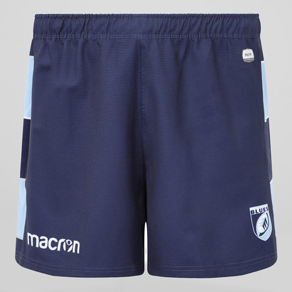 Macron Cardiff Blues 2018/19 Kids Home Rugby Shorts