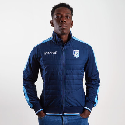 Macron Cardiff Blues 2018/19 Players Anthem Rugby Jacket