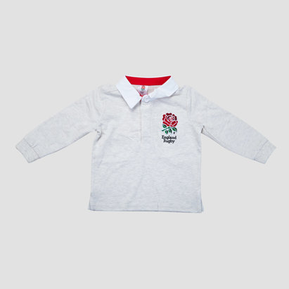 England Rugby England 2018/19 Infant Classic L/S Rugby Shirt