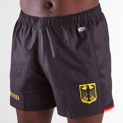 Macron Germany 2018/19 Home Rugby Shorts