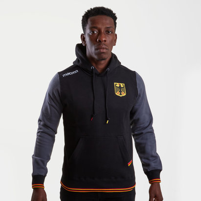 Macron Germany 2018/19 Hooded Rugby Sweat