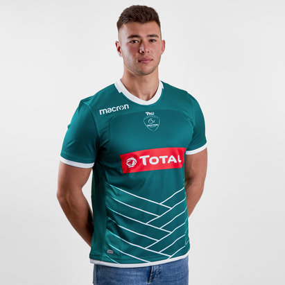 Macron Pau 2018/19 Alternate S/S Rugby Shirt