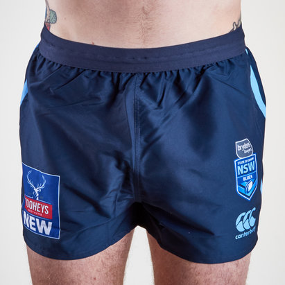 Canterbury NSW Blues State of Origin 2019 Home Rugby League Shorts