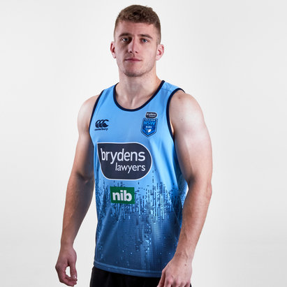Canterbury NSW Blues State of Origin 2019 Rugby League Training Singlet