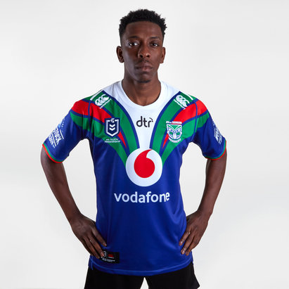 Canterbury New Zealand Warriors NRL 2019 Home S/S Rugby Shirt
