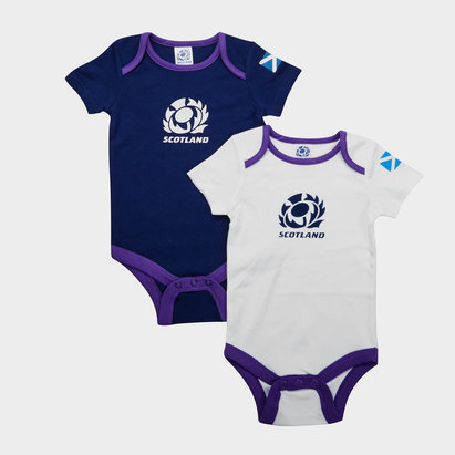 Scotland RFU 2018/19 Infant Bodysuits 2 Pack