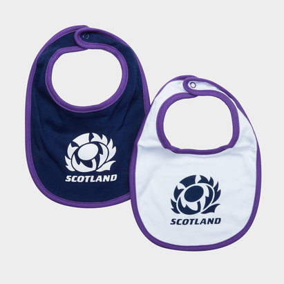 Scotland RFU 2018/19 Infant Bib 2 Pack