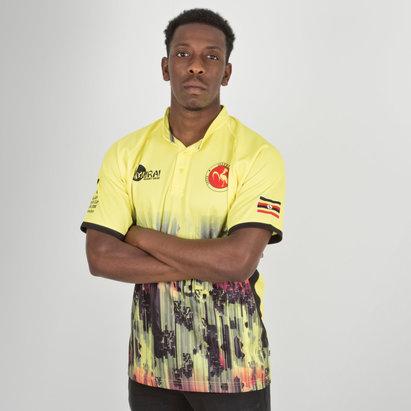 Samurai Uganda 7s 2018 RWC Home S/S Replica Rugby Shirt