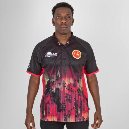 Samurai Uganda 7s 2018 RWC Alternate S/S Replica Rugby Shirt