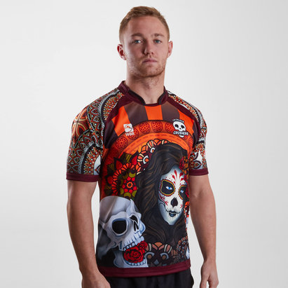 World Beach Rugby La Calaca Crushers 2018/19 Home S/S Rugby Shirt