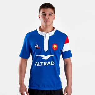 Le Coq Sportif France 2018/19 Home S/S Rugby Shirt