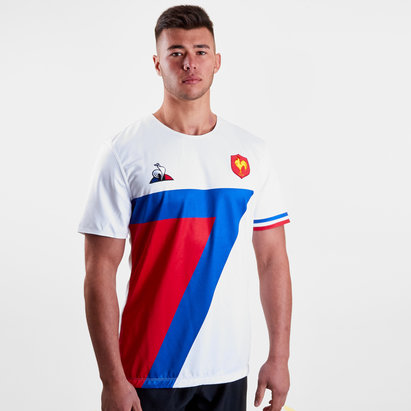 Le Coq Sportif France 7s 2018/19 Alternate S/S Rugby Shirt