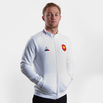 Le Coq Sportif France 2018/19 Presentation Full Zip Rugby Sweatshirt