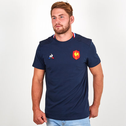 Le Coq Sportif France 2018/19 Presentation Rugby T-Shirt