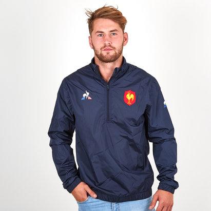 Le Coq Sportif France 2018/19 Windbreaker Rugby Training Jacket
