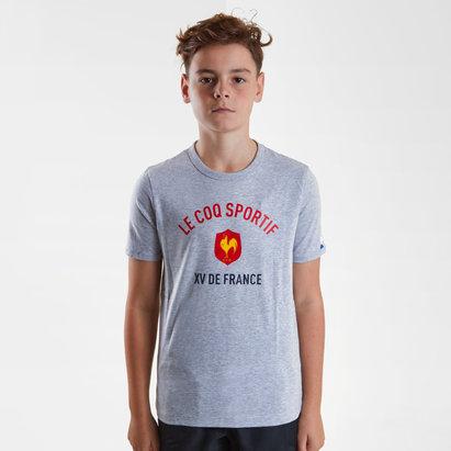 Le Coq Sportif France 2018/19 Kids Rugby T-Shirt