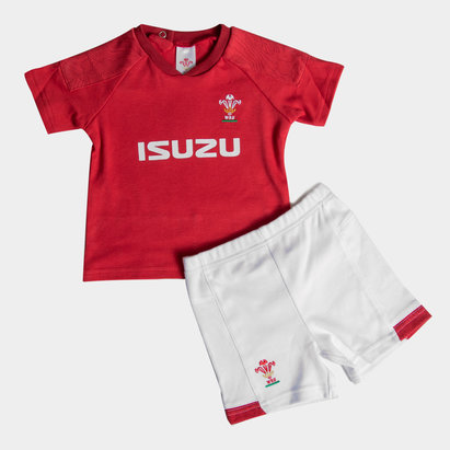 Wales Rugby Wales WRU 2018/19 Kids T-Shirt & Short Set