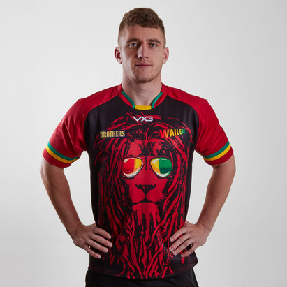 VX-3 Wailers 2019 Alternate S/S Rugby Shirt