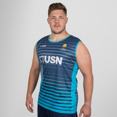 VX-3 Worcester Warriors 2018/19 Sublimated Vest