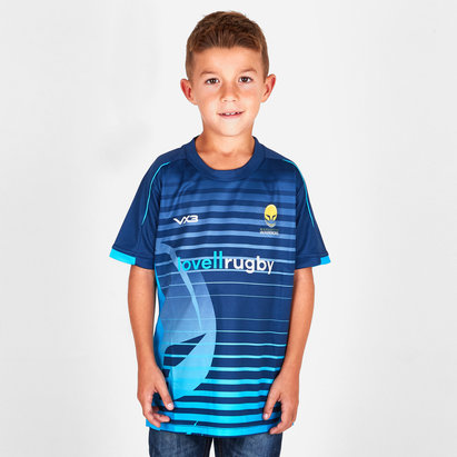 VX-3 Worcester Warriors 2018/19 Kids Sublimated T-Shirt