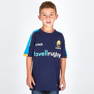 VX-3 Worcester Warriors 2018/19 Kids Pro Rugby T-Shirt