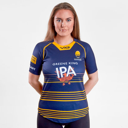 VX-3 Worcester Warriors 2018/19 Ladies Home Replica Rugby Shirt