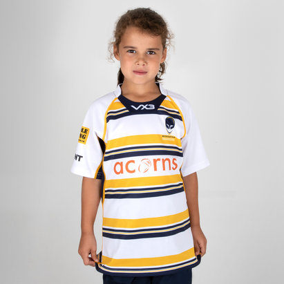 VX-3 Worcester Warriors 2018/19 3rd Kids Replica Rugby Shirt