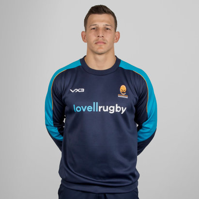 VX-3 Worcester Warriors 2018/19 Pro Crew Rugby Sweater