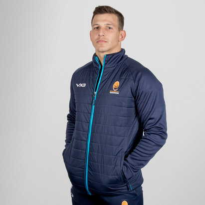 VX3 Worcester Warriors 2018/19 Pro Hybrid Rugby Jacket