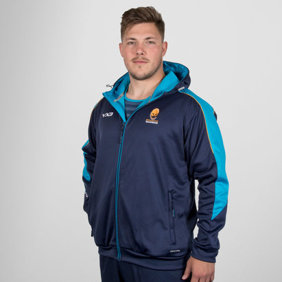 VX-3 Worcester Warriors 2018/19 Pro Full Zip Rugby Hoodie