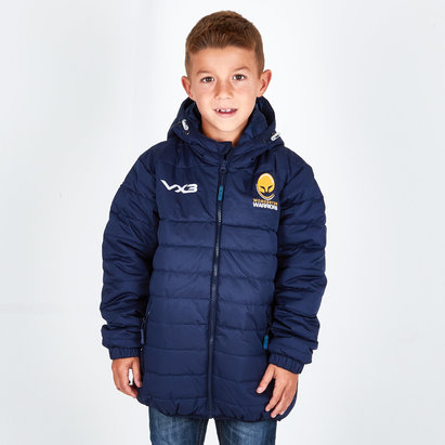 VX-3 Worcester Warriors 2018/19 Kids Pro Quilted Rugby Jacket