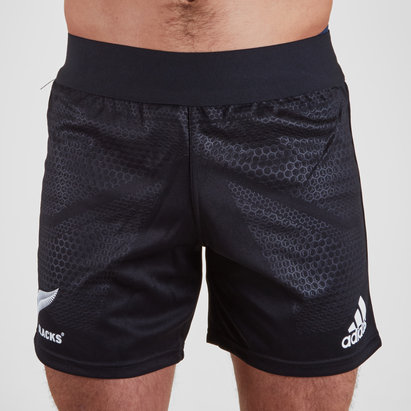 adidas New Zealand All Blacks 2018/19 Home Rugby Shorts